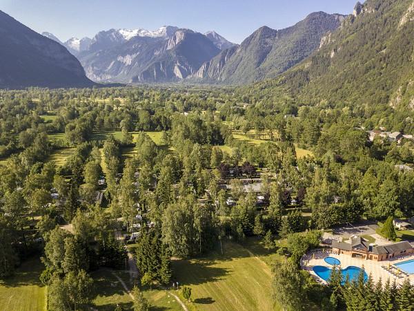 Camping belledonne bij de Alpe d Huez