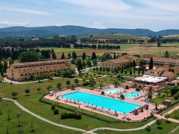 Vakantiepark in de mooie heuvels van Toscane