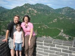 Bij de Chinese muur