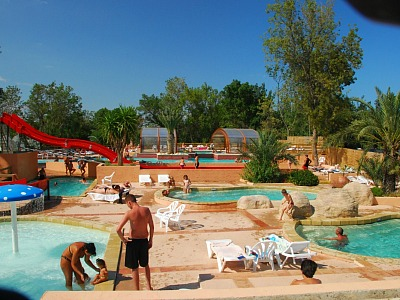 Camping la Chapelle zwembad