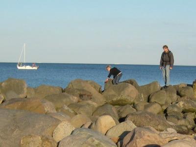 Rotsklimmen aan de Oostzeekust