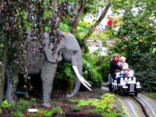 Op safari in Legoland