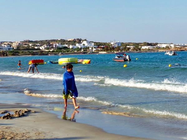Santa Maria Beach op Paros