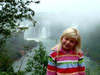 Voor de Iguacu watervallen