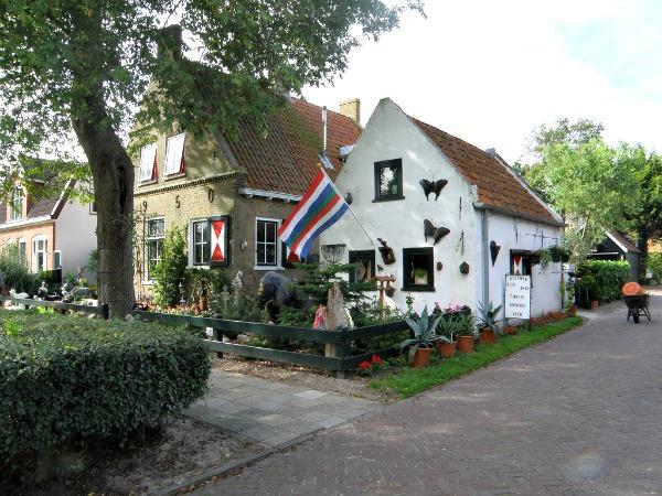 Het gezellige dorp Schiermonnikoog