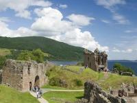 Kasteelruïne in Schotland