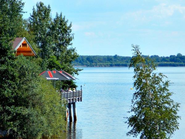 Prachtig plekje aan de Senftenberger See in Oost-Duitsland
