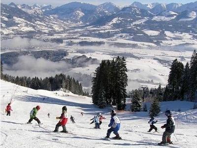 Skiklasje in de Allgäuer Alpen