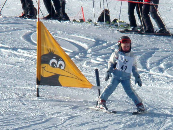 De eerste skilessen