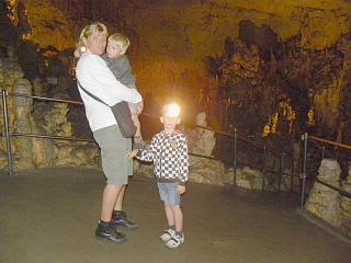 In de Postojna grotten
