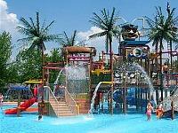 Waterpark bij één van de accommodaties waar je met Pharos verblijft