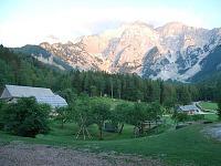 EKO boerderij in de bergen