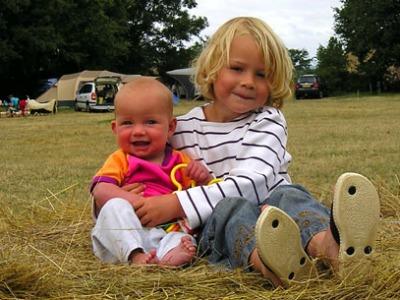 Ook met jonge gezinnen en ook op de camping maakt SNP er iets bijzonders van