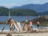 Strandjutten in Canada met SNP