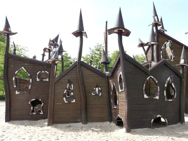 Mooi speeltoestel in Provinciaal Domein Huizingen