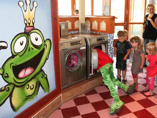 Volop pret bij de wasmachines