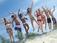 Strandplezier bij het Stoetenslagh