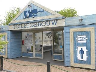 Toiletgebouw bij Stoetenslagh