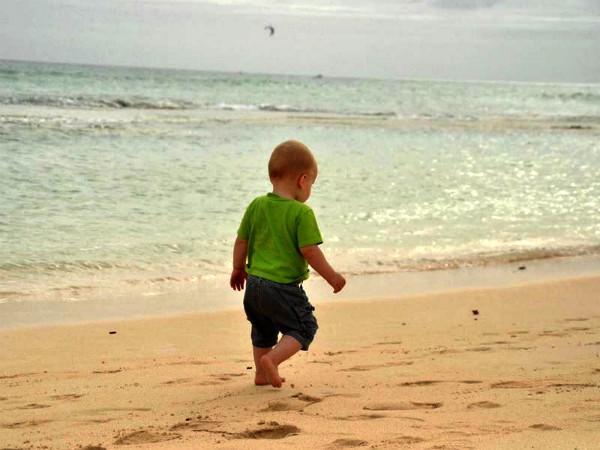 Dreumes op het strand van Fuerteventura
