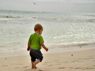 Dreumes op het strand van Fuenteventura