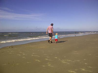 Een wandeling langs het brede strand van Terschelling