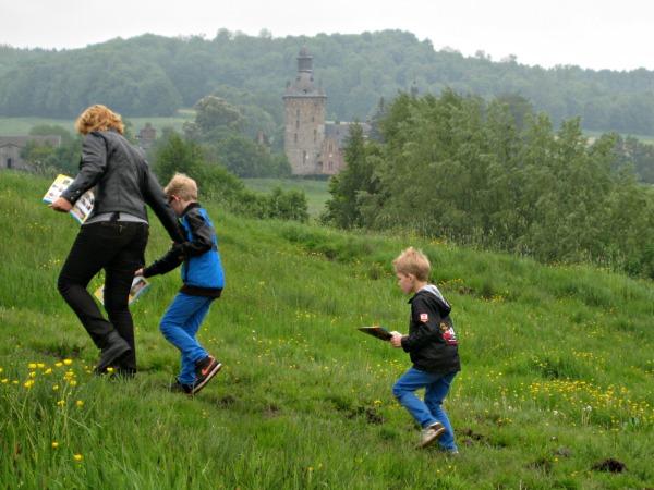 We doen een speurtocht in de heuvels van Zuid-Limburg