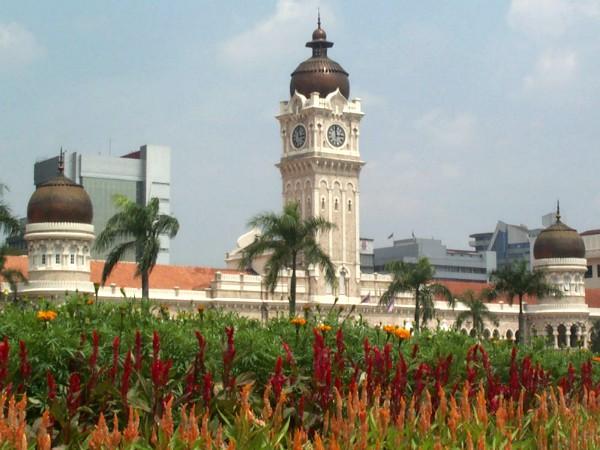 Sultan Abdul Samad gebouw in Kuala Lumpur