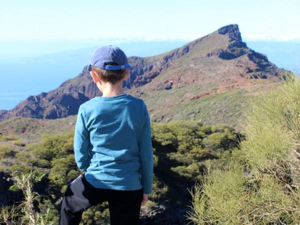 Prachtige uitzichten tijdens een wandeling met de kinderen