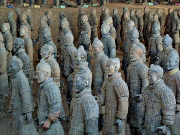 Het Terracotta leger