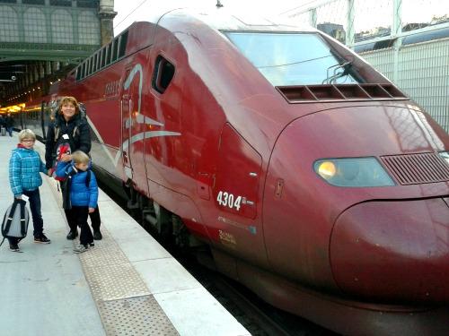 Aankomst op Gare du Nord, en nu?