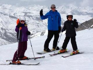 Op de top bij Val Thorens