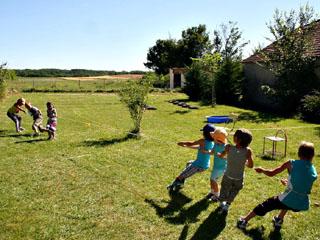 Lekker spelen bij een kindvriendelijke chambre d'hôtes