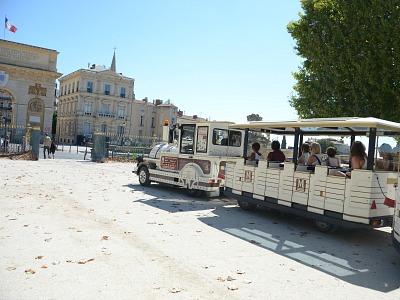 Treintje in Montpellier