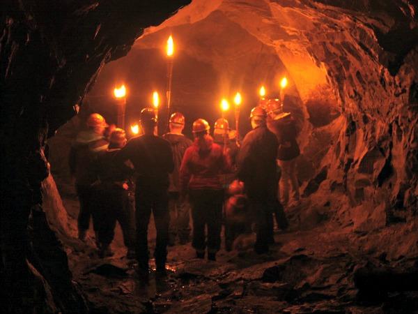 Spannende tunnel excursie
