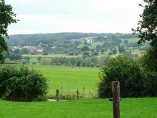 Uitzicht op het Limburgse heuvelland