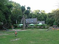 Speelveld bij het Berghuis op de Utrechtse Heuvelrug