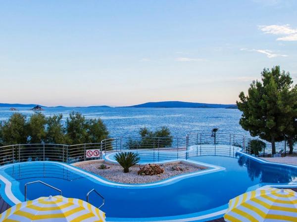 Camping Belvedere aan de Dalmatische kust in Kroatië