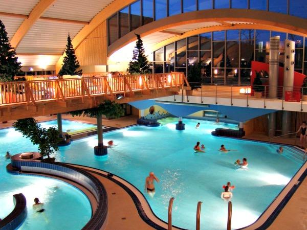 Indoor zwemparadijs van Hasseröder Ferienpark