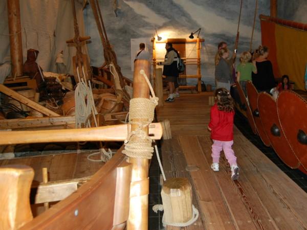 Het Vikingschip museum bij Roskilde