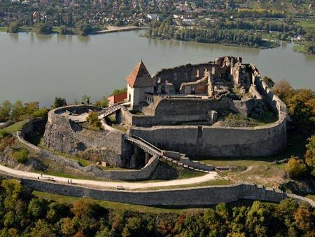 De burcht van Visegrad