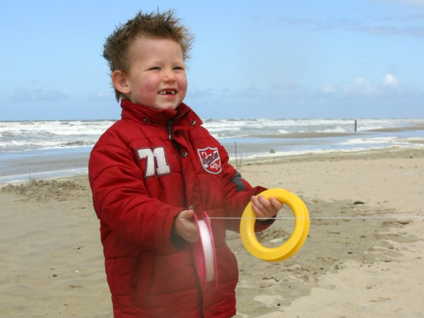 Op de stranden van Texel kun je heerlijk vliegeren