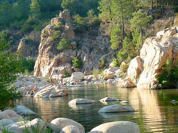 rivier camping Sole di Sari