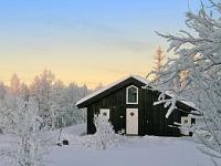 Een wintersport bungalow