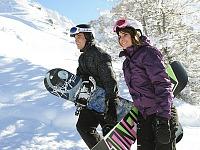 Leer snowboarden bij Aime la Plagne