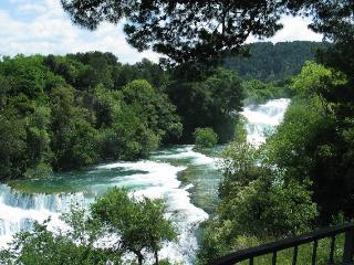 De prachtige Krka watervallen in Kroatië