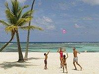 Op het strand bij Punta Cana