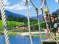 Klimpark bij Flachau