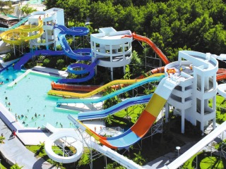 Een Aquamania waterpark