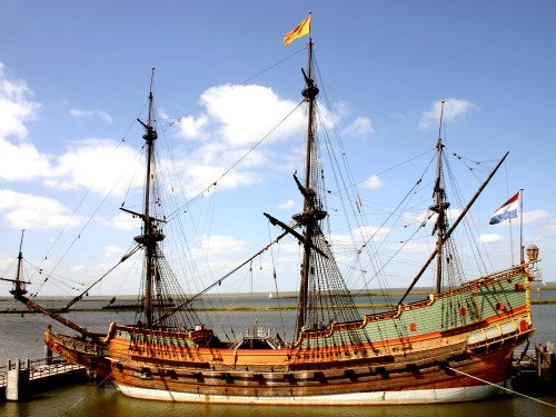 De Batavia scheepswerf vind je in Flevoland