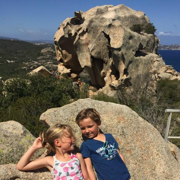 Bij de berenrots op Sardinië